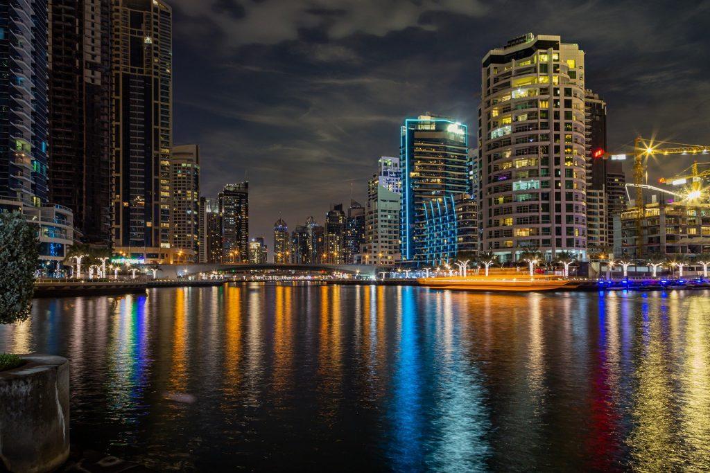 Dubai Marina is the heart of Dubai