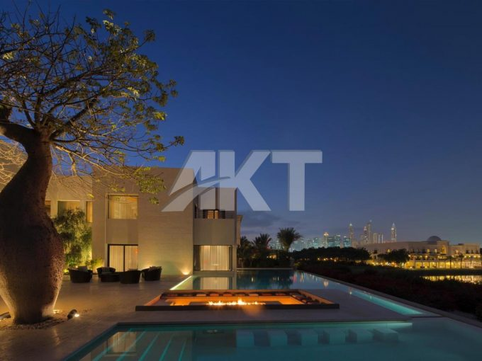 Super Luxury Golf Course View Villa for SALE in Emirates Hills