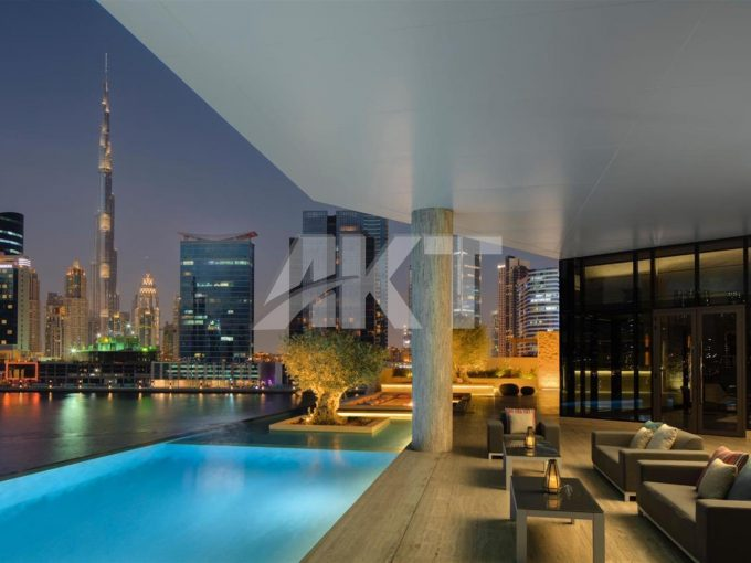 Half floor Penthouse full Burj Khalifa views